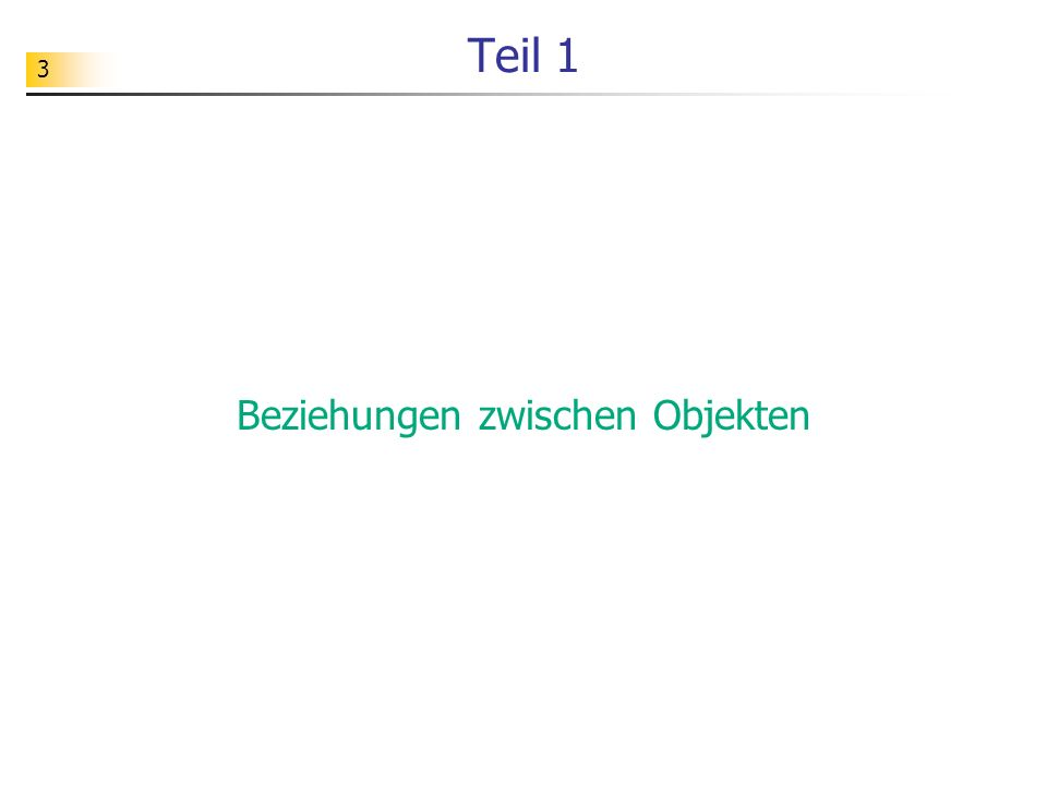 74 Objektorientierung Grundideen ObjektNachrichtBeziehungKlasse Modellierungssprache: UML Implementierungssprache: Delphi, Java,...