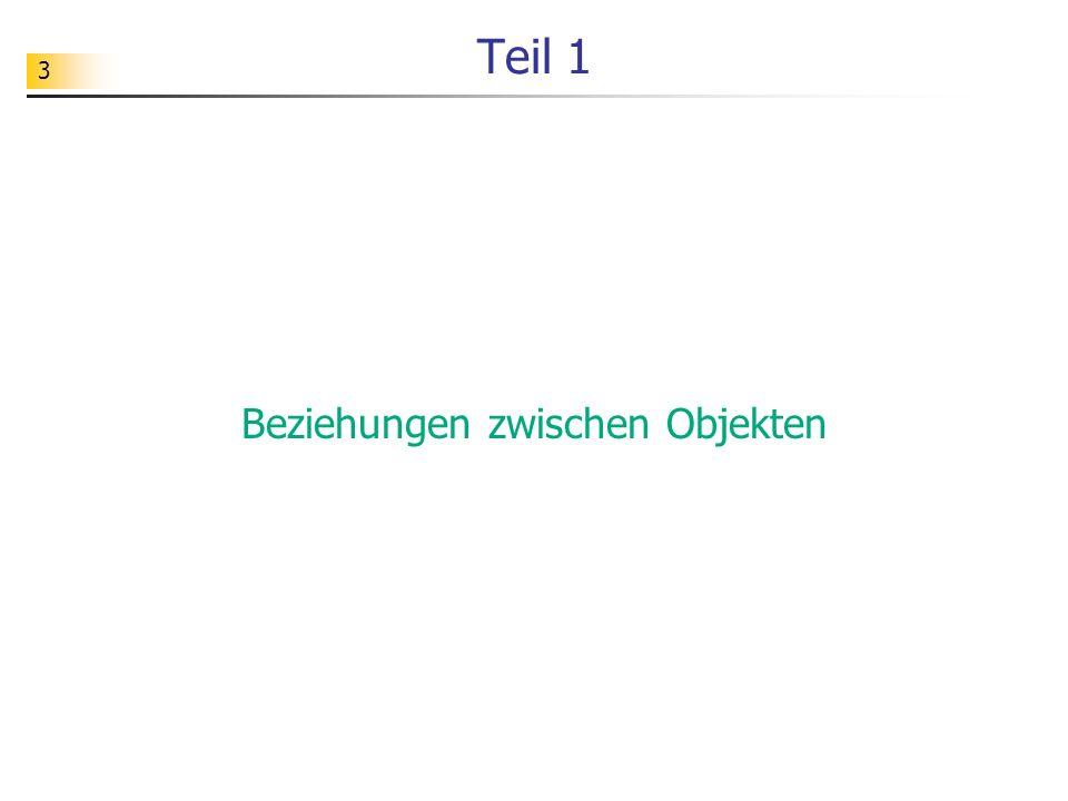 34 Modellklasse mit Referenzattributen unit uSpielmanager; interface uses uWuerfel; type TSpielmanager = class private wuerfelA: TWuerfel; public constructor create; destructor destroy; override;...