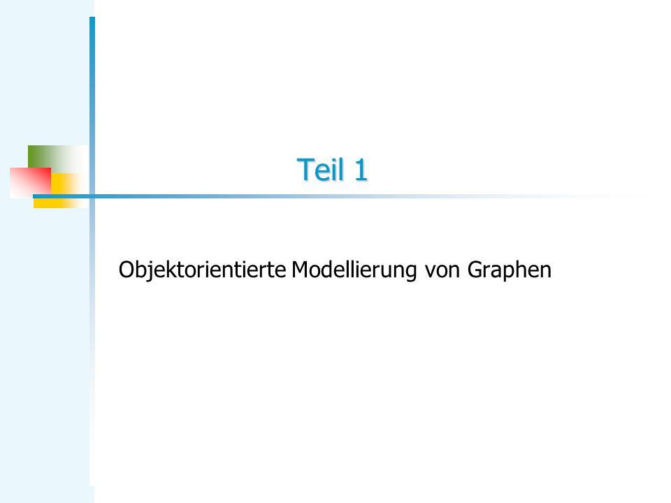 Teil 1 Objektorientierte Modellierung von Graphen