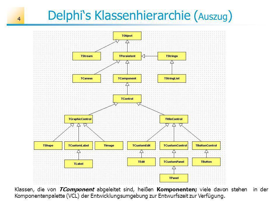 25 Polymorphismus Das Konzept der dynamischen Bindung heißt in der OOP Polymorphismus (Vielgestaltigkeit).