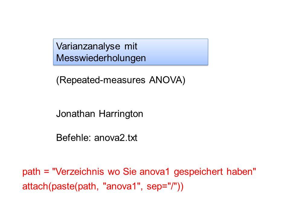 ANOVA mit Messwiederholungen: between and within Die Dauer, D, (ms) wurde gemessen zwischen dem Silbenonset und dem H* Tonakzent in äußerungsinitialen Silben (zB nächstes) und -finalen Silben (demnächst) jeweils von 10 Vpn., 5 aus Bayern (B) und 5 aus Schleswig-Holstein (SH).