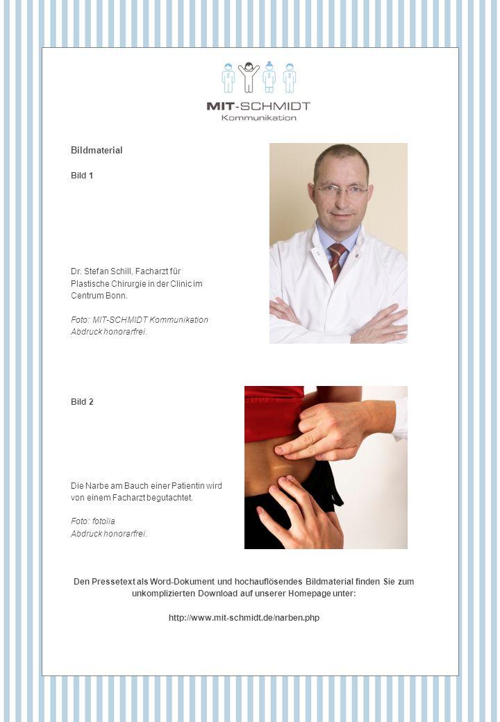 Bildmaterial Bild 1 Dr. Stefan Schill, Facharzt für Plastische Chirurgie in der Clinic im Centrum Bonn. Foto: MIT-SCHMIDT Kommunikation Abdruck honora