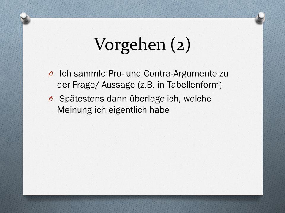Methodik: 1.Einleitung: Vorstellen des Themas und der Fragestellung z.B.