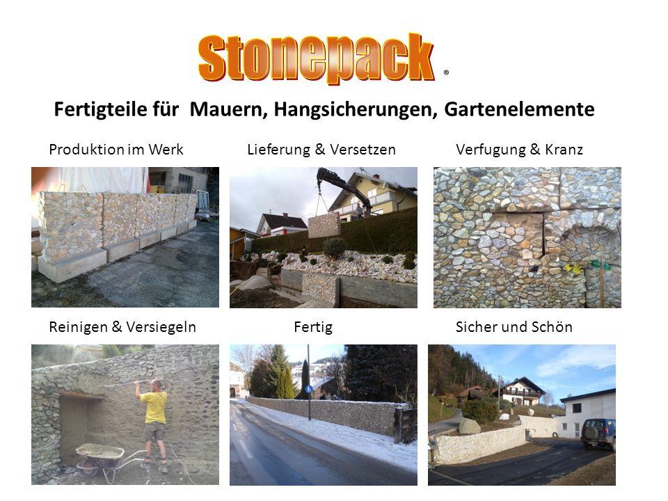 Hangsicherungen mit Marmor und Amphibolit Amphibolit / Pörtschach Marmor / Deutsch- Griffen Detail Ecken Rundungen werden vor gefertigt