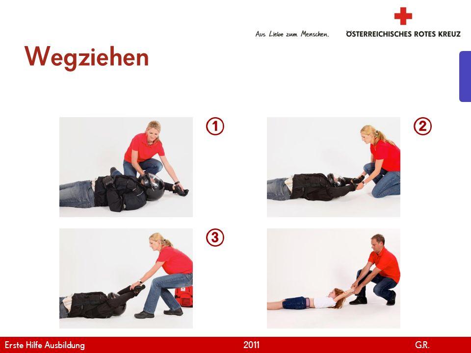 www.roteskreuz.at Version April   2011 Helmabnahme 1/2 20 Erste Hilfe Ausbildung 2011 G.R.