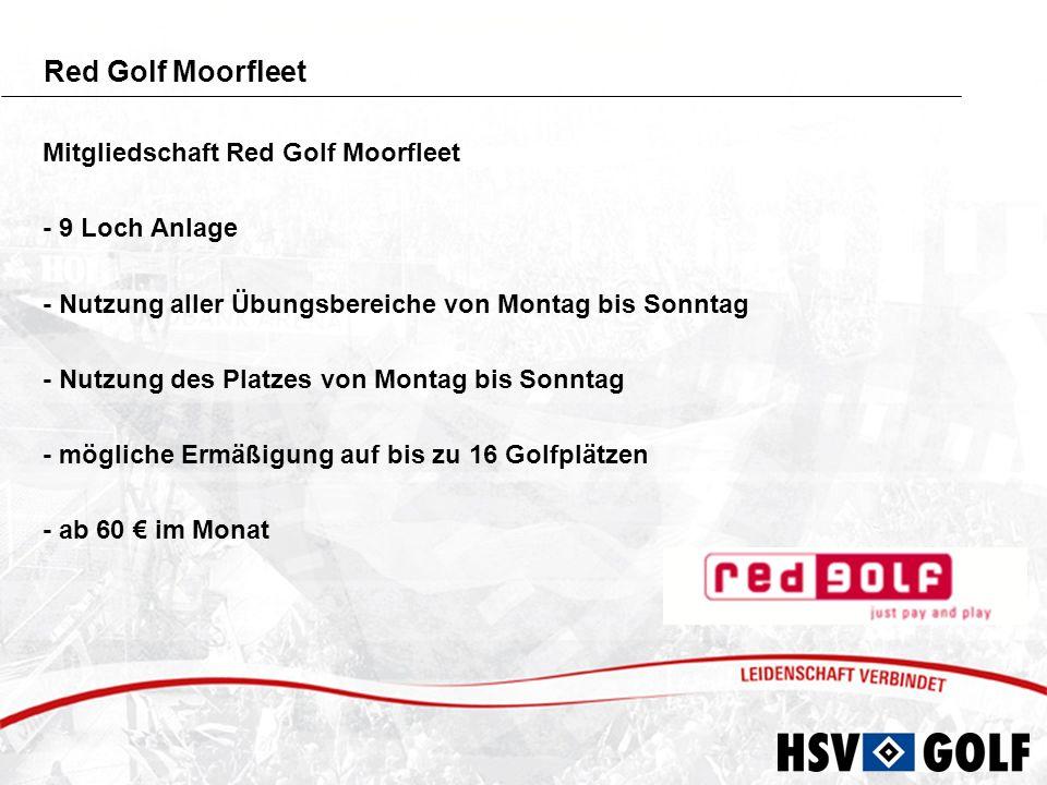 Red Golf Quickborn Mitgliedschaft Red Golf Quickborn - 6 Loch Anlage - Nutzung aller Übungsbereiche von Montag bis Sonntag - Nutzung des Platzes von Montag bis Sonntag - mögliche Ermäßigung auf bis zu 16 Golfplätzen - ab 44 im Monat