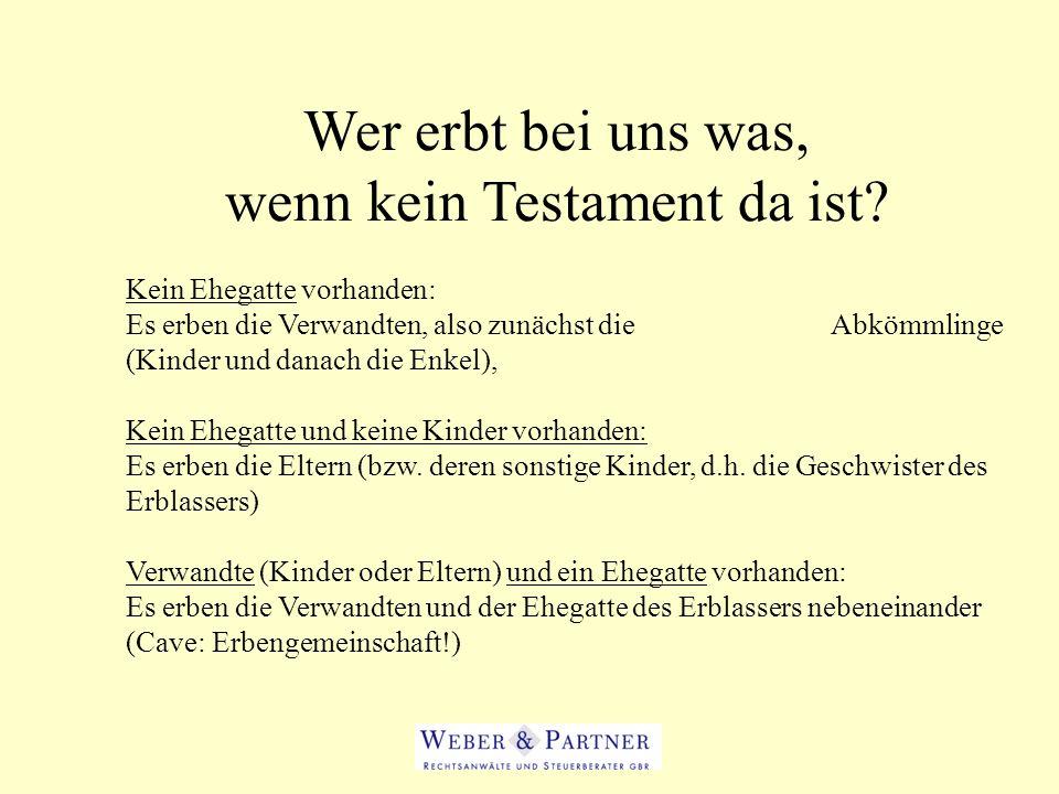Berliner Testament – Ein Geschenk fürs Finanzamt.
