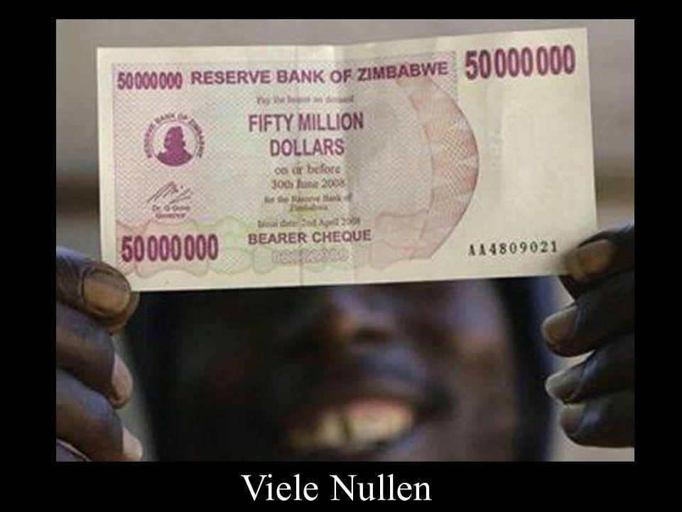 Viele Nullen