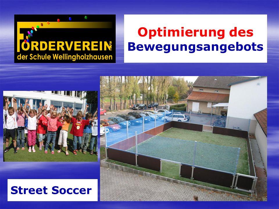 Optimierung des Bewegungsangebots Street Soccer