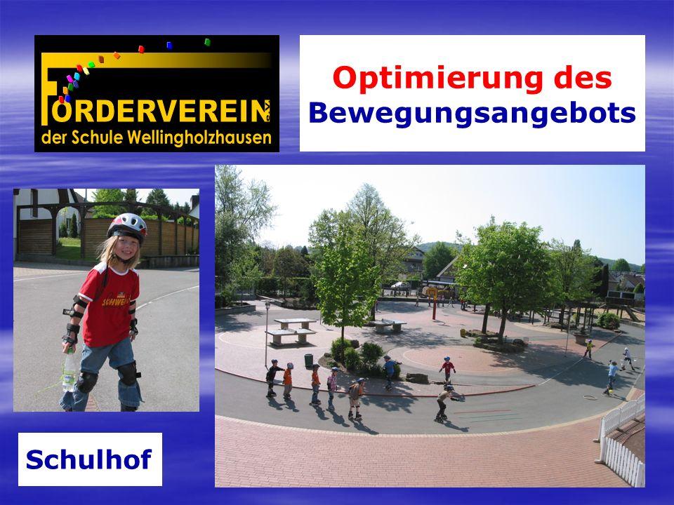 Optimierung des Bewegungsangebots Schulhof