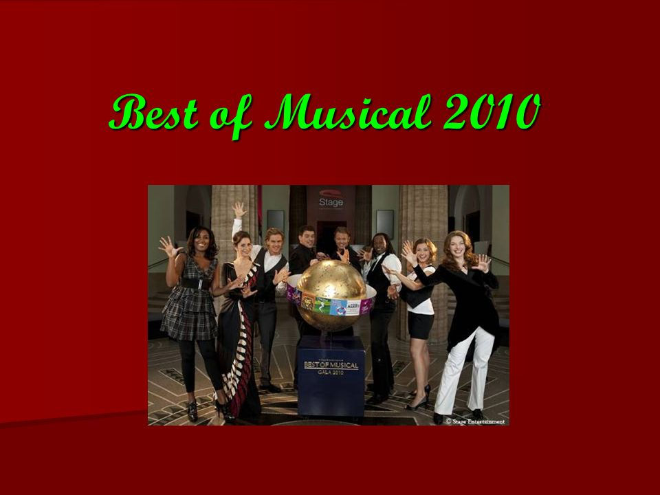 Best of Musical 2010