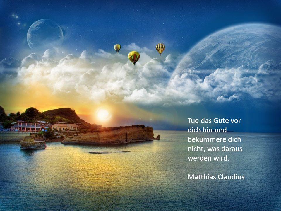 Je tiefer man die Schöpfung erkennt, umso größere Wunder entdeckt man in ihr. Martin Luther