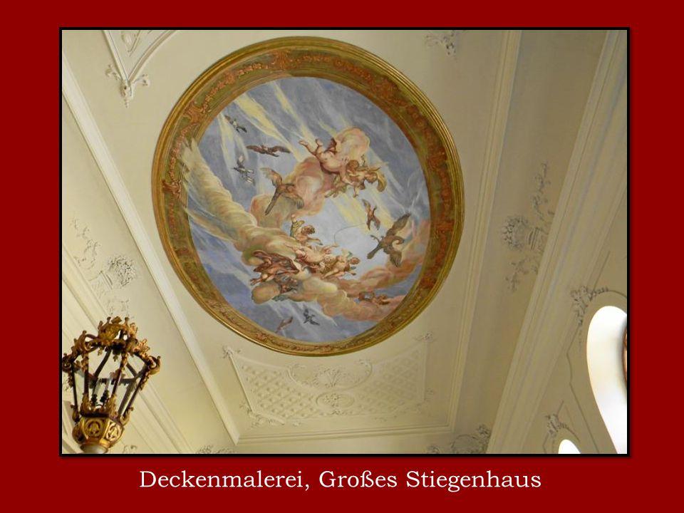 Deckenmalerei, Großes Stiegenhaus
