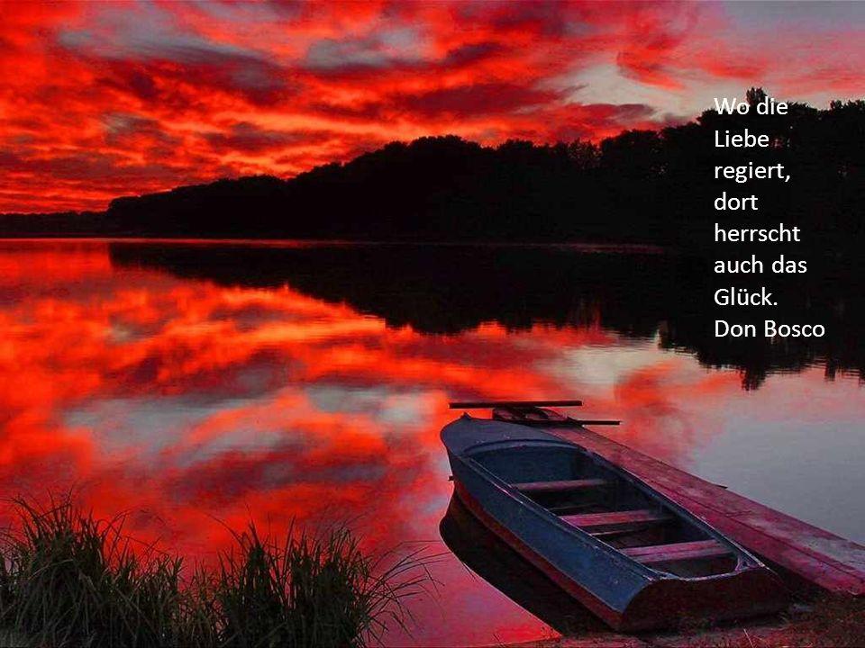 Das Höchste, was der Mensch besitzen kann, ist jene Ruhe, jene Heiterkeit, jener innerer Friede, die durch keine Leidenschaft beunruhigt werden kann.
