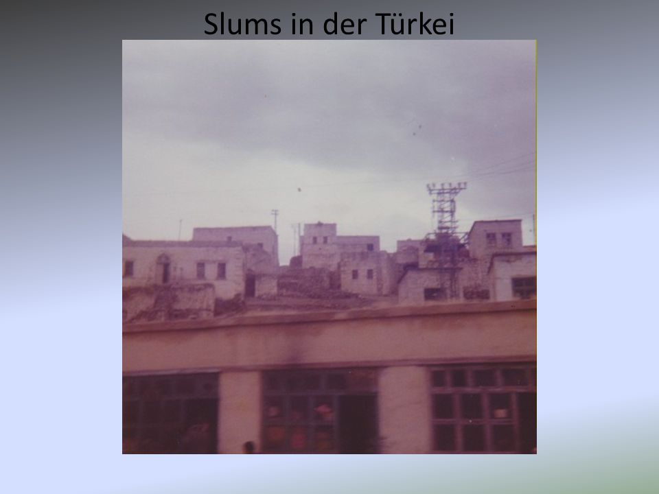 Slums in der Türkei