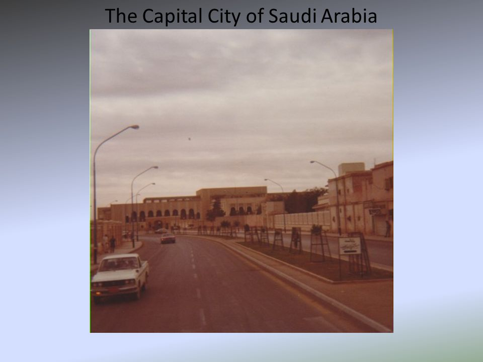 The Capital City of Saudi Arabia
