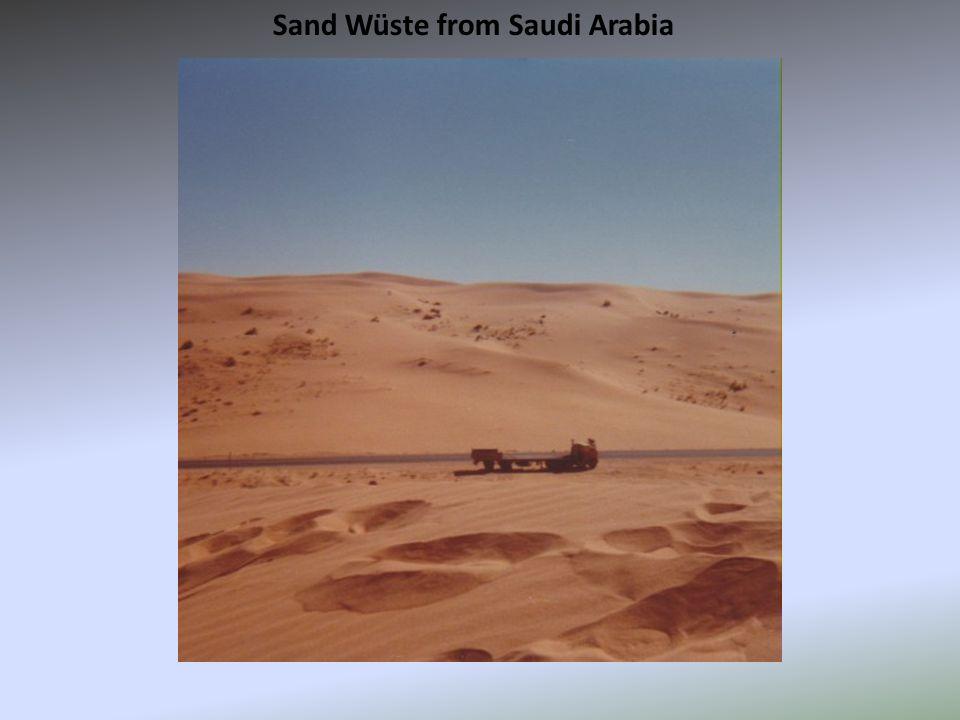 Sand Wüste from Saudi Arabia