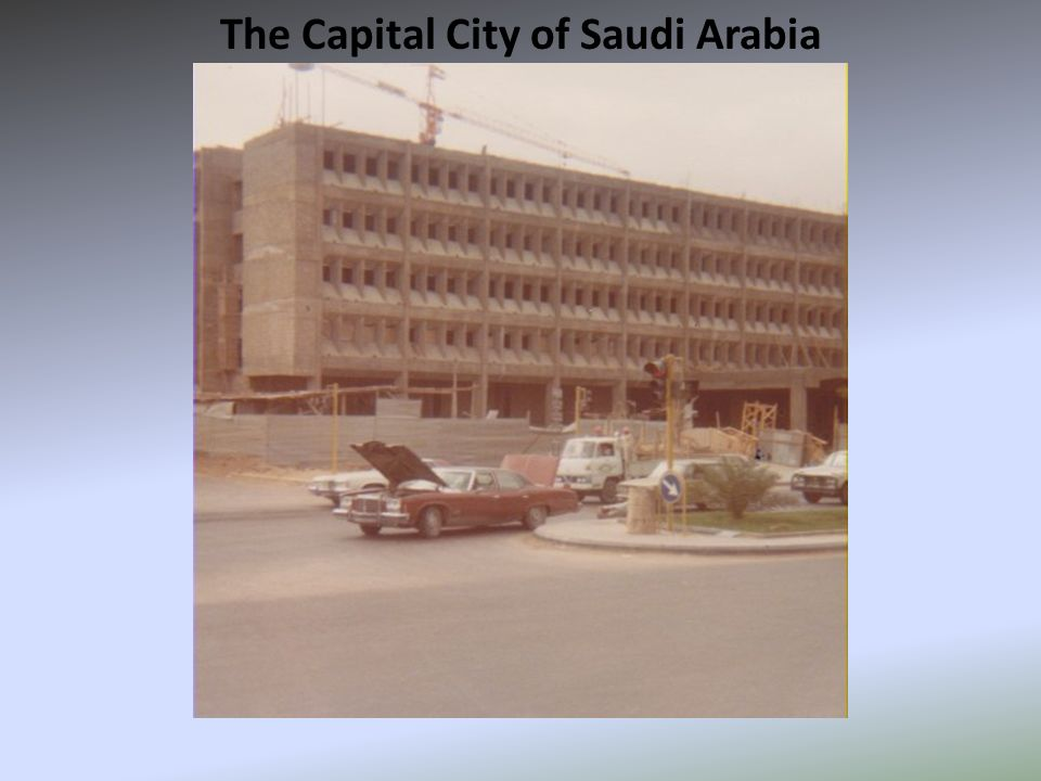 The Capital City of Saudi Arabia