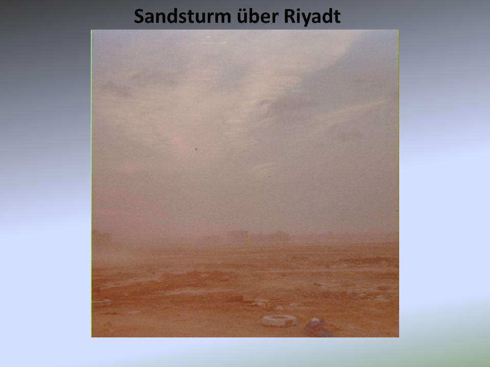 Sandsturm über Riyadt
