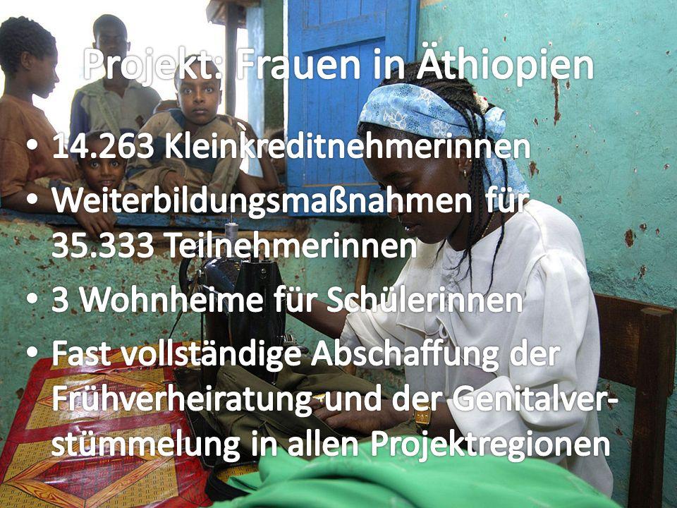 1,2 Millionen Menschen in Äthiopien sind mit HIV infiziert.