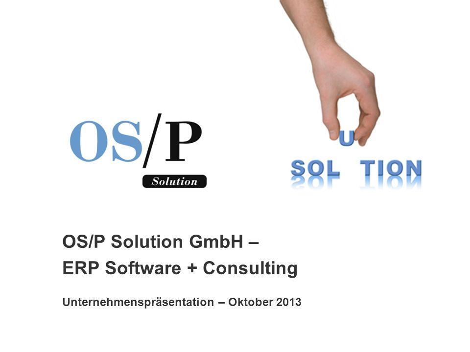 ERP+ Software Consulting Gliederung 1.Geschichte 2.