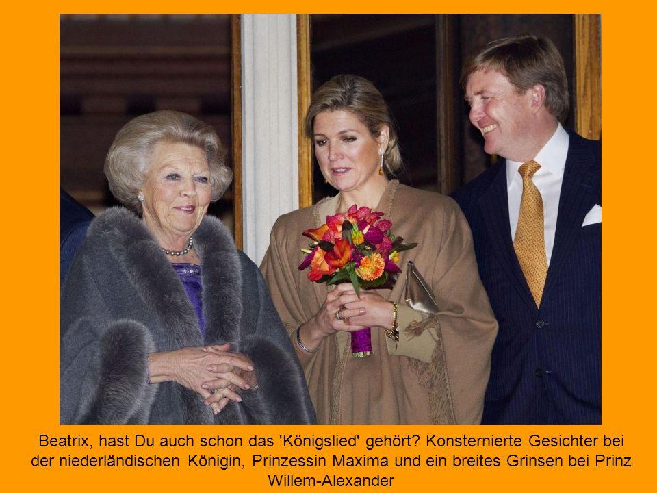 Willem und Máxima starten die Feiern zum Thronwechsel