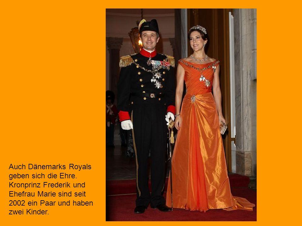 Auch Prinz Albert II.