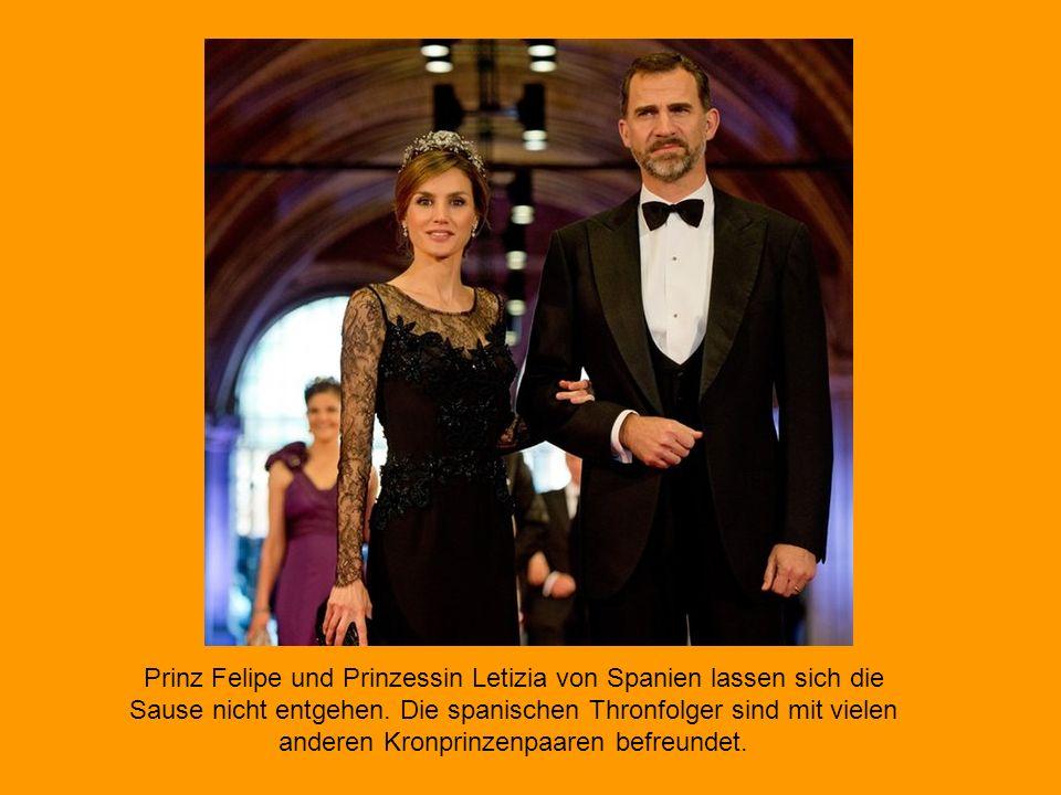 Prinz Haakon und Prinzessin Mette- Marit von Norwegen sind ebenso zur Krönungsfeier eingeladen.