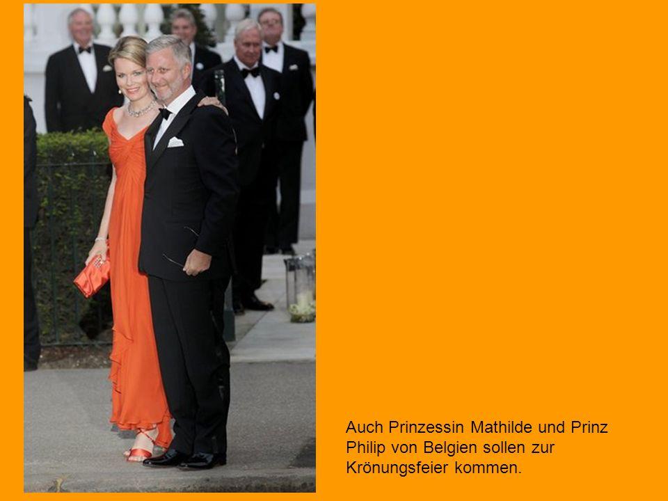 Prinz Felipe und Prinzessin Letizia von Spanien lassen sich die Sause nicht entgehen. Die spanischen Thronfolger sind mit vielen anderen Kronprinzenpa