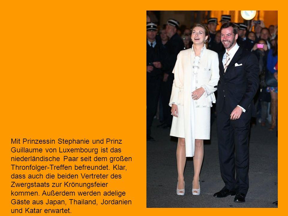 Auch Prinzessin Mathilde und Prinz Philip von Belgien sollen zur Krönungsfeier kommen.