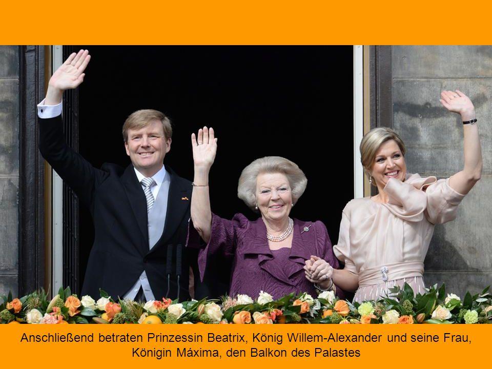 Dieses ist das Dokument, das den Thronwechsel in den Niederlanden nun bestätigt.