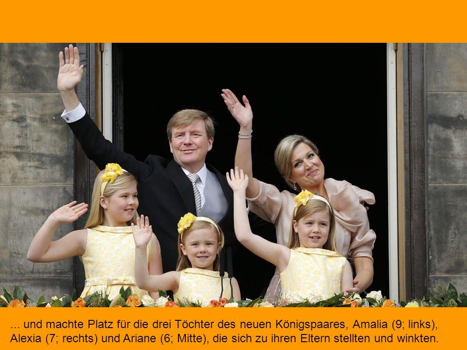 Dann verließ Prinzessin Beatrix den Balkon...