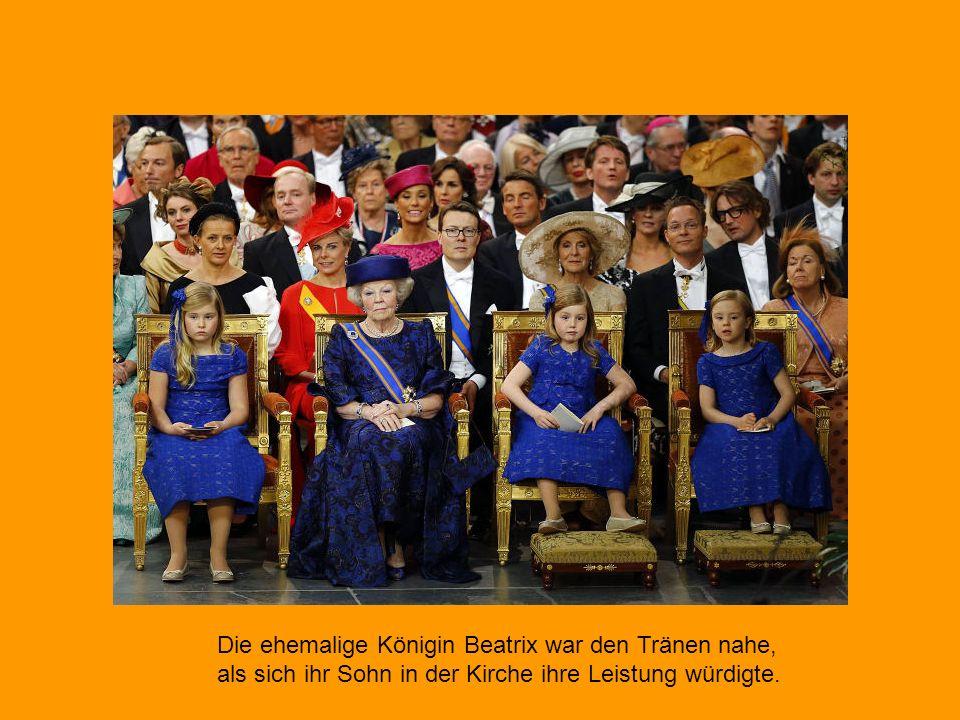 Willem-Alexander hat seinen Eid als König der Niederlande geleistet.