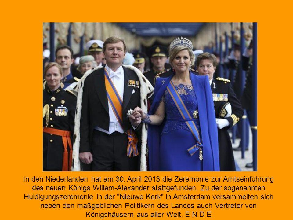 Die ehemalige Königin Beatrix war den Tränen nahe, als sich ihr Sohn in der Kirche ihre Leistung würdigte.