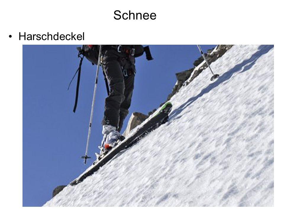 Schnee Flexibilität und Festigkeit der Schneedecke