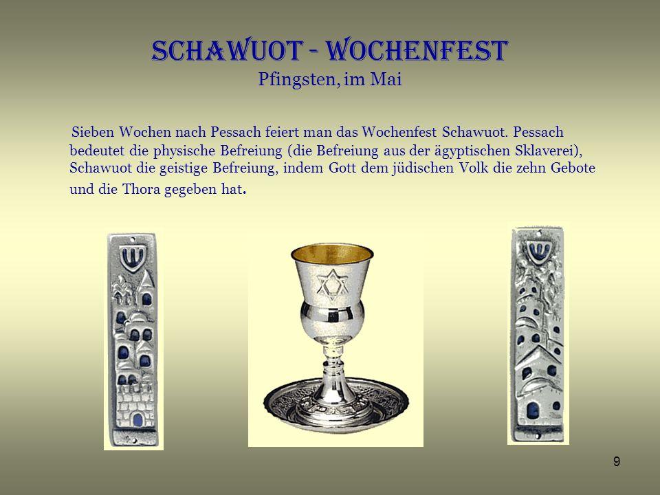 10 SCHABATH Beschreibung des Schabath im Jüdischen Museum in Frankfurt a.M.