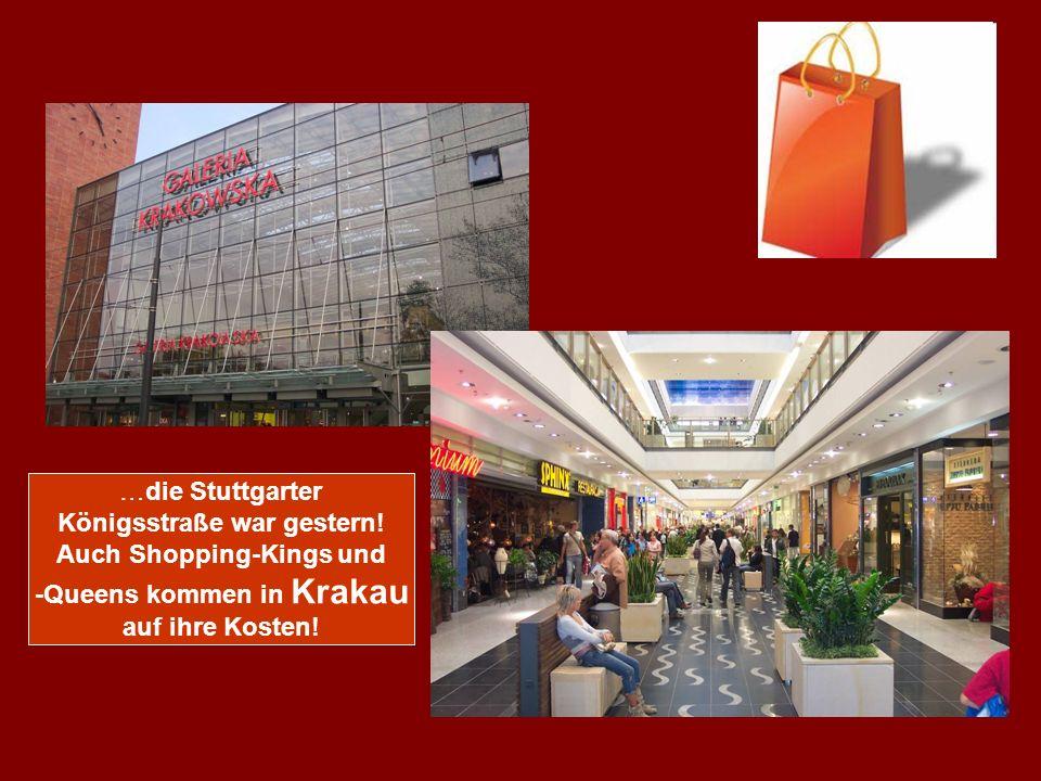 …die Stuttgarter Königsstraße war gestern.