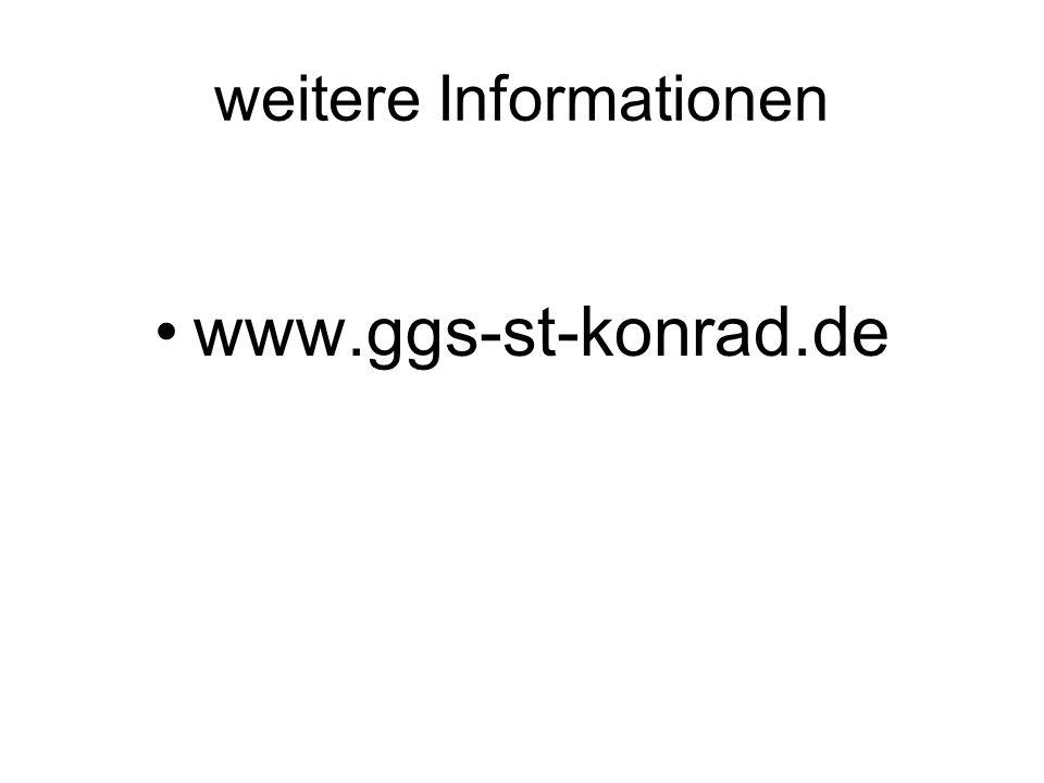 weitere Informationen www.ggs-st-konrad.de