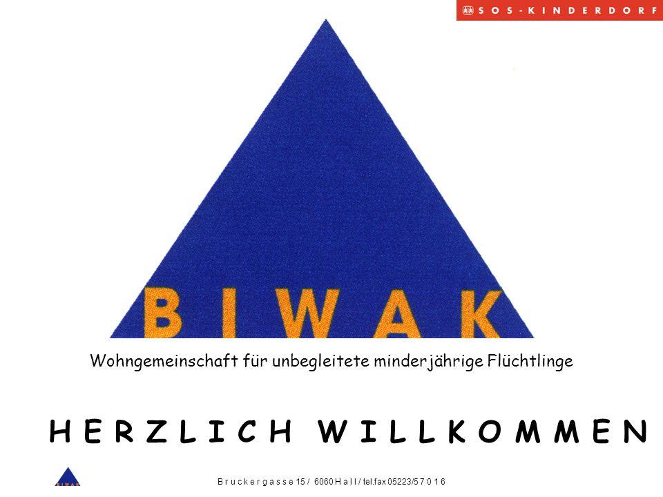 Wo ist das Biwak ?.HALL in Tirol Das Biwak steht im Zentrum von Hall.