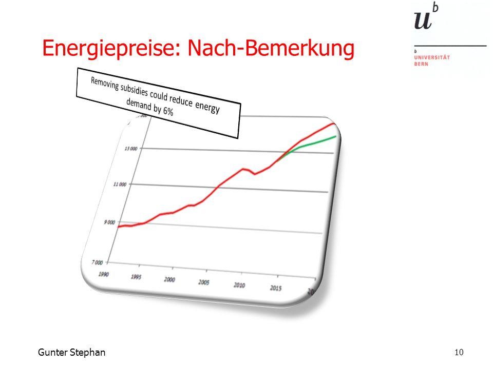 Gunter Stephan Energiepreise: Nach-Bemerkung 10