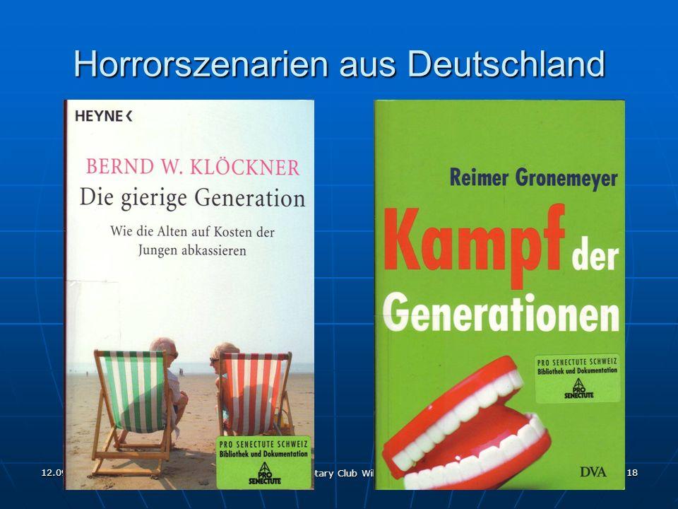 12.09.2011 Rotary Club Wil 18 Horrorszenarien aus Deutschland
