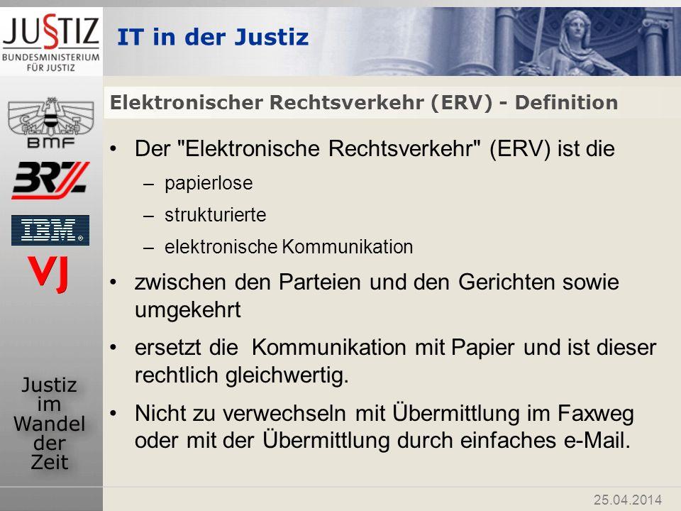 IT in der Justiz 25.04.2014 www.justiz.gv.at www.ris.bka.gv.at www.edikte.justiz.gv.at www.sdgliste.justiz.gv.at Thomas.gottwald@bmj.gv.at Peter.frank@bmj.gv.at