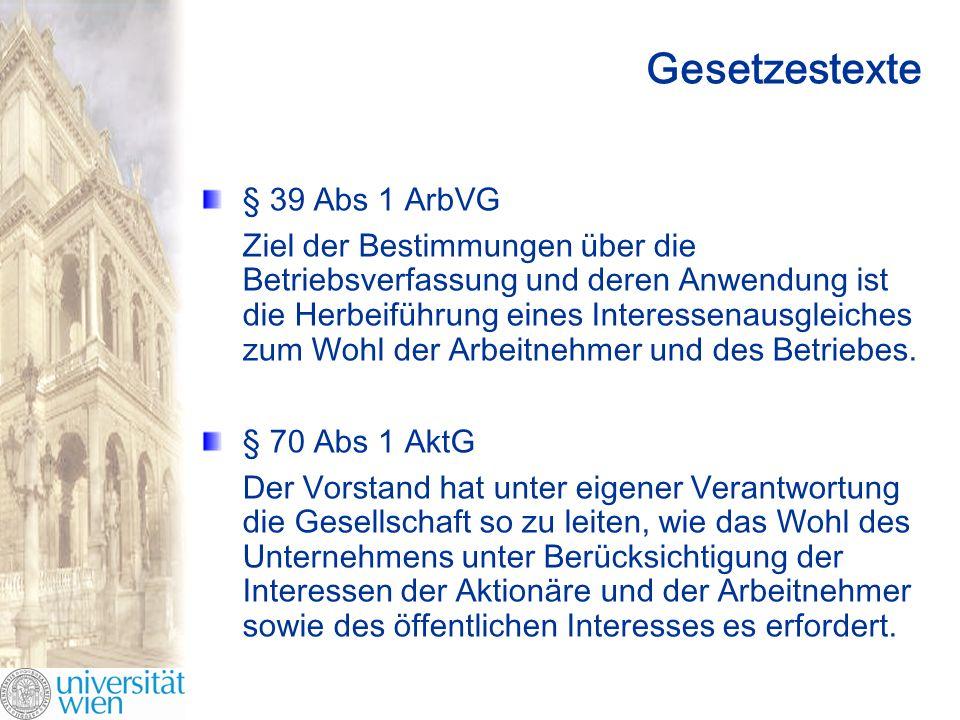 Modellüberlegungen Modelle Klassenkampf.Kooperation.