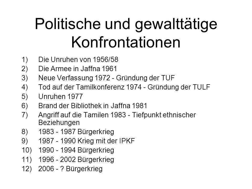 Historischer Überblick 1)Anfänge ethnischen Bewußtseins im 19.