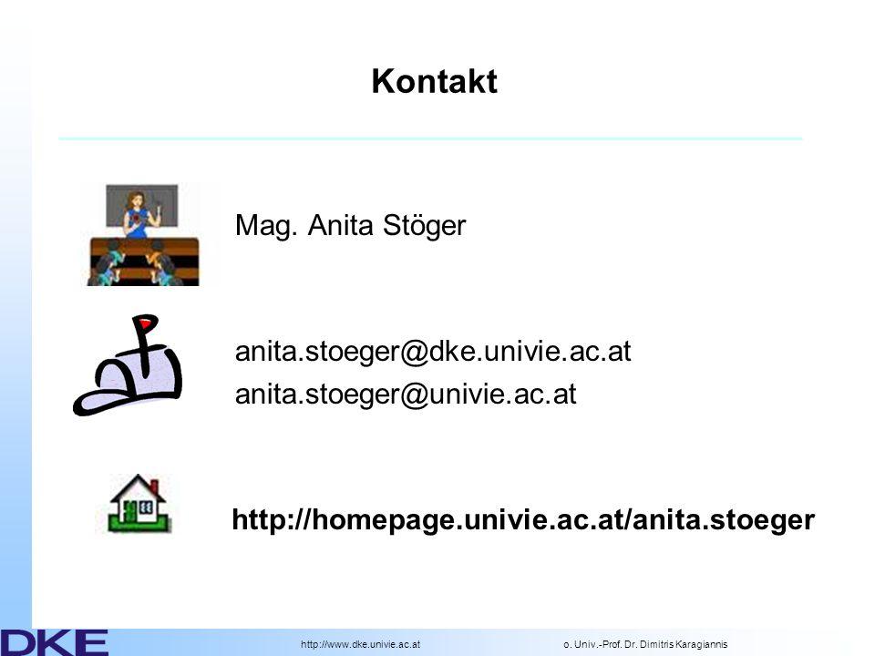 http://www.dke.univie.ac.ato.Univ.-Prof. Dr. Dimitris Karagiannis Semesterplanung 02.03.