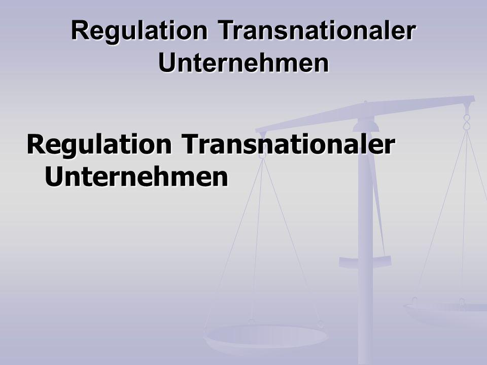 Die (OECD-)Leitsätze sind seit ihrer Entstehung rechtlich unverbindlich.
