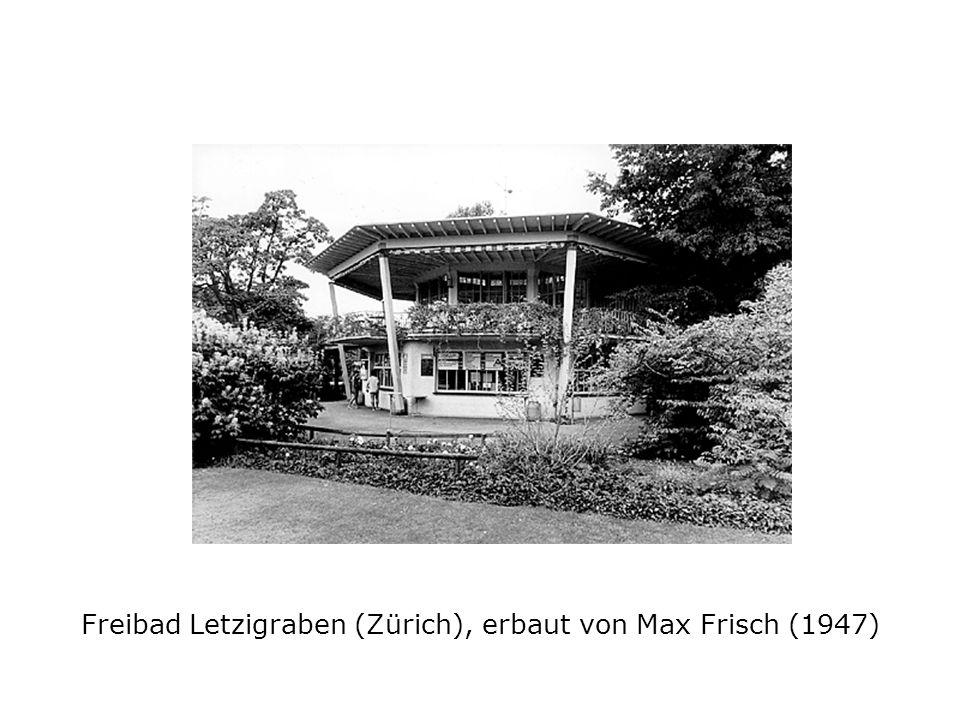 Freibad Letzigraben (Zürich), erbaut von Max Frisch (1947)