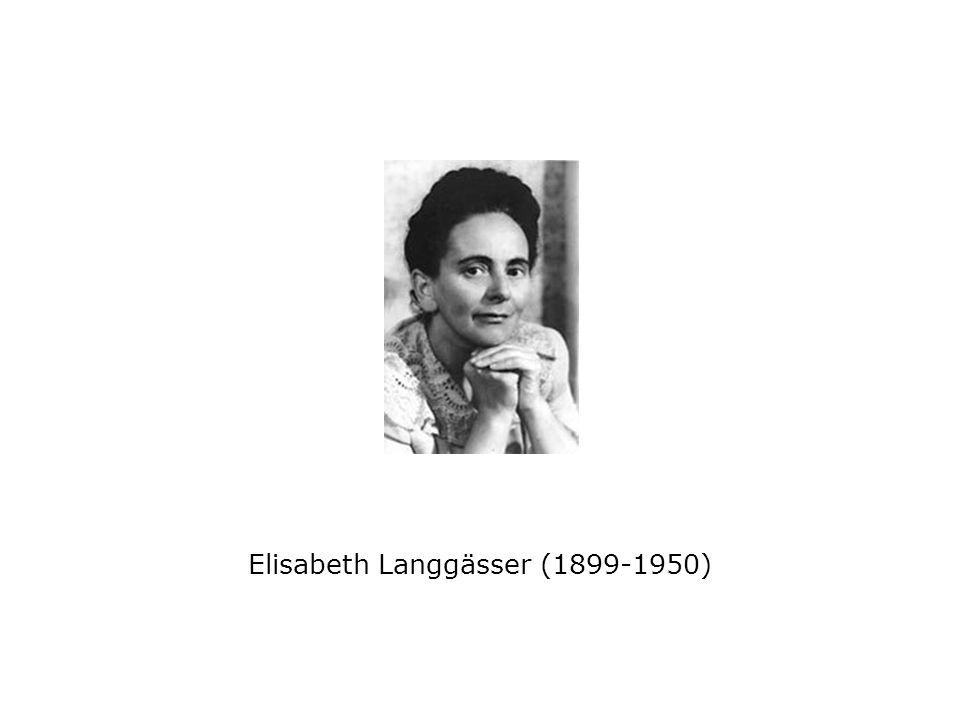 Elisabeth Langgässer (1899-1950)