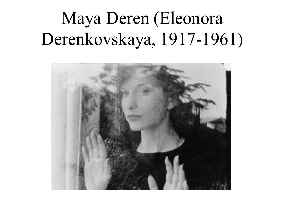 Maya Deren (Eleonora Derenkovskaya, 1917-1961)