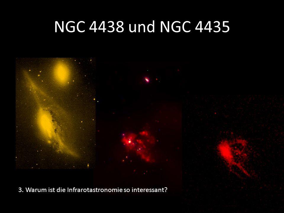 NGC 4438 und NGC 4435